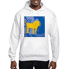 Lion Snowflake Ornament Hoodie