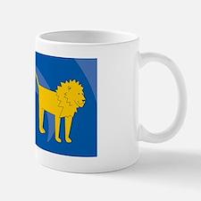 Lion Small Luggage Tag Mug