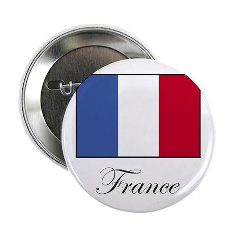 France - Flag of France Button