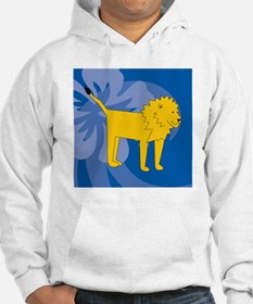 Lion Puzzle Coasters Hoodie