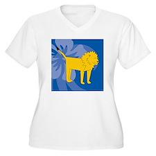 Lion Puzzle Coast T-Shirt