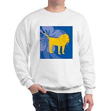 Lion Puzzle Coasters Sweatshirt
