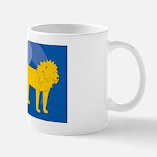 Lion Large Luggage Tag Mug