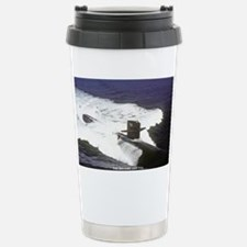 lp uss houston large poster Travel Mug