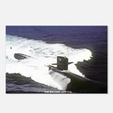 lp uss houston large post Postcards (Package of 8)