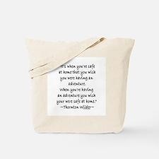 Thornton Wilder Tote Bag