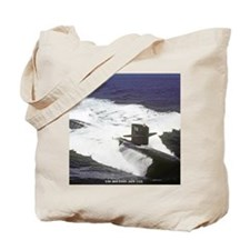 sp uss houston small poster Tote Bag