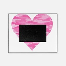 Pink Camo Heart Picture Frame