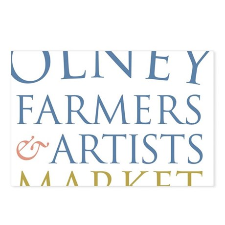 Olney Farmers Artists Ma Postcards (Package of 8)