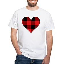 Red PLaid Heart Shirt