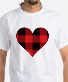 Red PLaid Heart Shirt