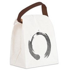 Enso Circle - Zen Canvas Lunch Bag
