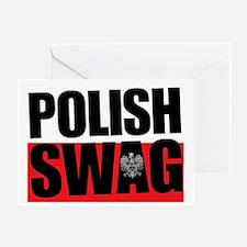 Polish Swag - 2012 Greeting Card
