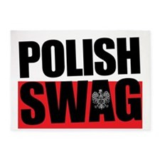 Polish Swag - 2012 5'x7'Area Rug