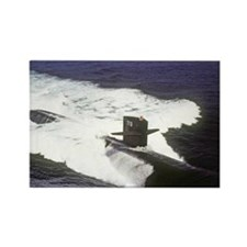 gc uss houston greeting card Rectangle Magnet