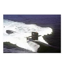 gc uss houston greeting c Postcards (Package of 8)