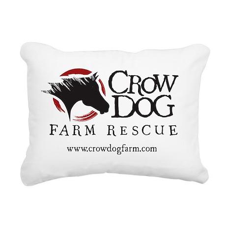 CDF Rescue color Rectangular Canvas Pillow
