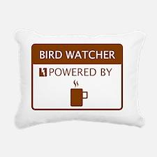 Bird Watcher Powered by  Rectangular Canvas Pillow