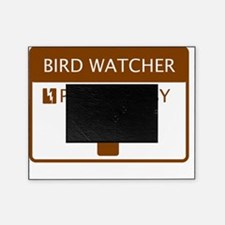 Bird Watcher Powered by Coffee Picture Frame