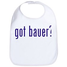 got bauer? Bib