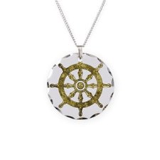 Dharmacakra - Wheel Of Dharm Necklace