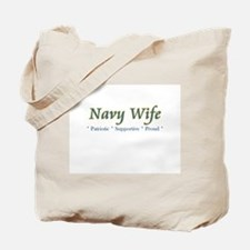 Navy Wife Definition Tote Bag