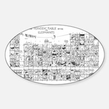 Periodic Table Sticker (Oval)