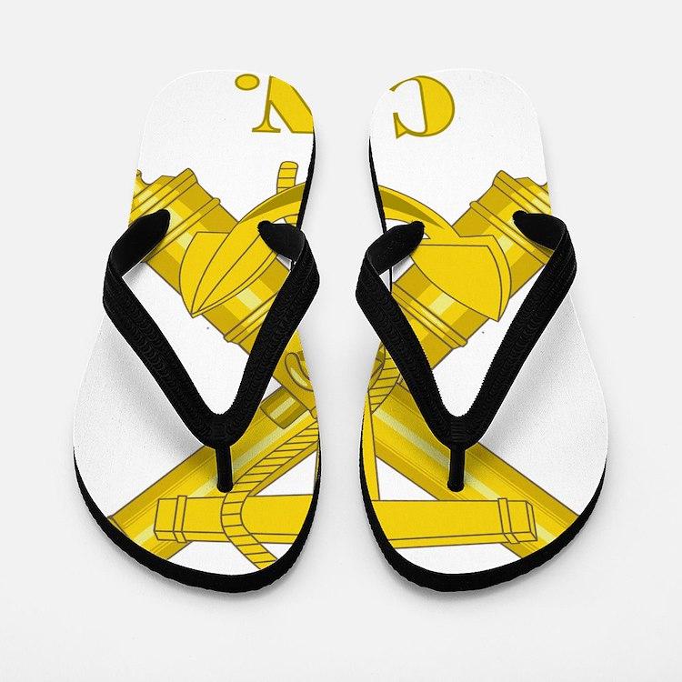 CSN Logo Flip Flops