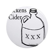 Dickens Cider Round Ornament