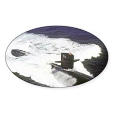 nc uss houston note card Decal