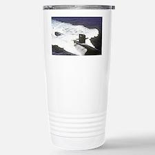 nc uss houston note card Travel Mug