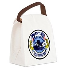 uss houston patch transparent Canvas Lunch Bag
