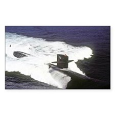 pc uss houston post card Decal