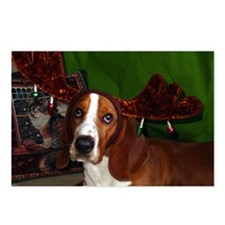 Have a Basset Holiday! Postcards (Package of 8)