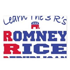 Romney Rice Republican 20 Postcards (Package of 8)