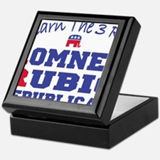 Romney Rubio Republican 2012 Keepsake Box