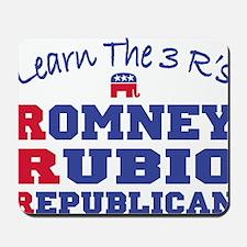 Romney Rubio Republican 2012 Mousepad