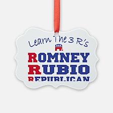 Romney Rubio Republican 2012 Ornament