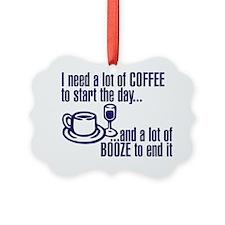 Coffee Booze Ornament