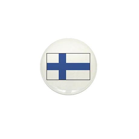 Finland Flag Mini Button