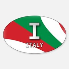 Italy Pride Oval Decal