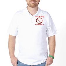 No Tats: I Love My Body T-Shirt
