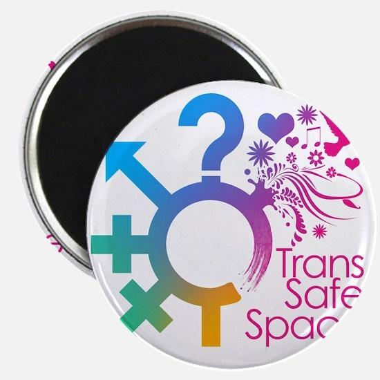 Trans Safe Space Sticker Magnet