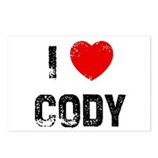 I * Cody Postcards (Package of 8)
