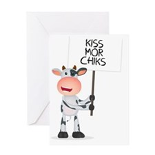 Kiss Mor Chiks Greeting Card