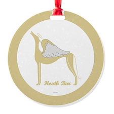 heath bar angel grey  Ornament