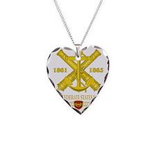 CSN Brass Necklace Heart Charm