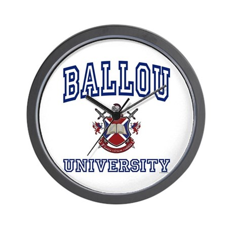 BALLOU University Wall Clock