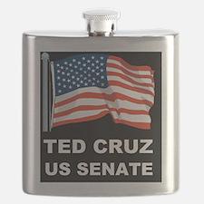 TED CRUZ US SENATE Flask