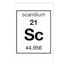 scandium Postcards (Package of 8)